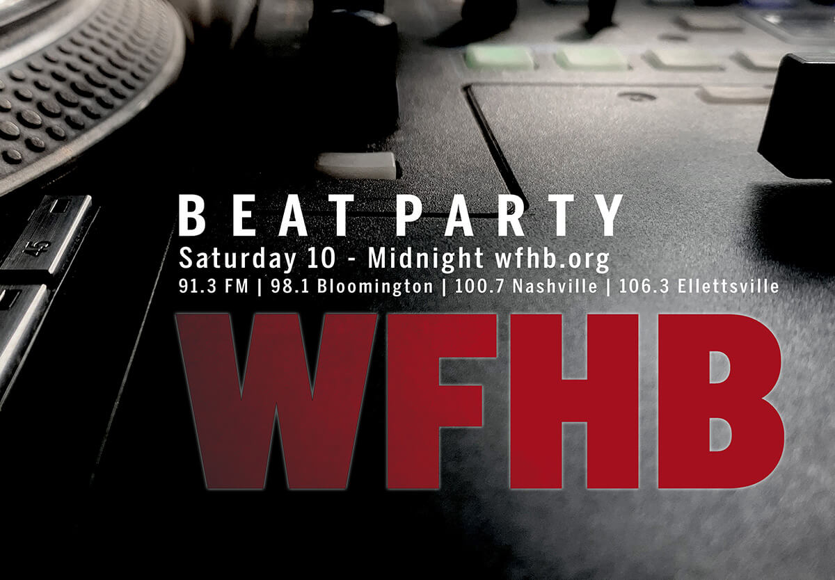 WFHB Beat Party cover art